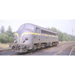 VAN BIERVLIET Budget Line Série 53 SNCB DC analogique