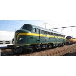 VAN BIERVLIET Budget Line série 202 SNCB DC analogique