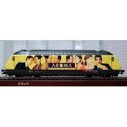 HAG Locomotive electrique  Re 460 SBB Aroma McDonald's gelb WS digi