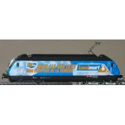HAG Locomotive electrique Re 460 SBB blau Lummimart 460013-6 GL ana