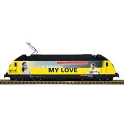 HAG Locomotive electrique Re 460 SBB Western Union gelb 460028-4 GL an