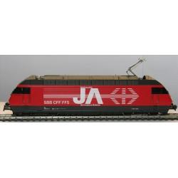 HAG Locomotive electrique Re 460 SBB rot Val du Trient  GL ana