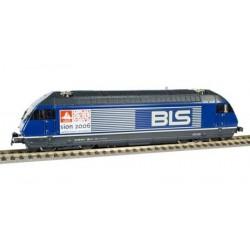 HAG Locomotive electrique Re 465 BLS blau Sion 2006 WS digi
