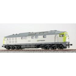 ESU BR  232-04, Captrain, grau-hellgrün, Ep VI, Sound+Rauch, DC/AC