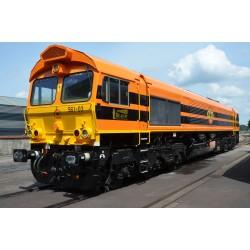 ESU C66 Rail Feeding, orange, DC/AC