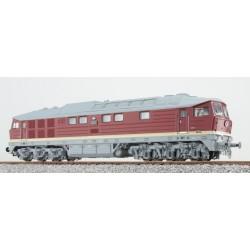 Baureihe 132 in H0 - 132 547, DR, bordeauxrot, DC/AC