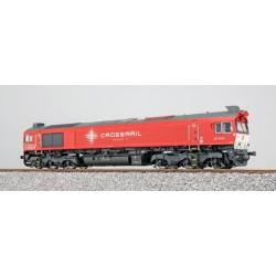 ESU H0, Crossrail DE 6314, verkehrsrot, DC/AC