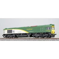 ESU H0 Freightliner Poland 66001, grün, DC/AC