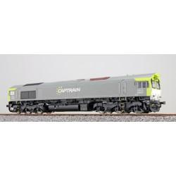 ESU H0, Captrain 6609, grau/grün, DC/AC