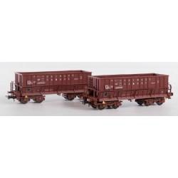 B-MODELS set de 2 wagons trémie SNCB NMBS, Cockerill Sambre