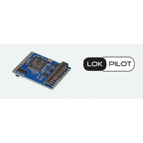 ESU LokPilot micro V5.0, Quadriprotocole