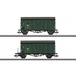 MÄRKLIN Set de wagons tombereaux SNCB