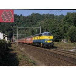 "MODELS-WORLD H0 Coffret Zurich - Brussel/Bruxelles Euro-City ""IRIS"" (1985 - 1987)"