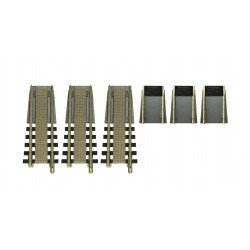 FLEISCHMANN H0 Kit complémentaire pour la plaque tournante 665201