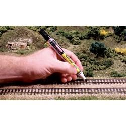 Woodland Scenics Stylo de peinture pour voie ferrée