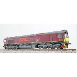 Class 66 CFL 714, rotbraun, DC/AC
