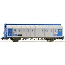 ROCO Wagon à parois coulissantes GYSEV