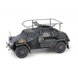 SdKfz 223, 4-rad, Funkwagen, MG34