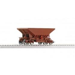 ROCO Wagon minéralier Uad avec feux arrières