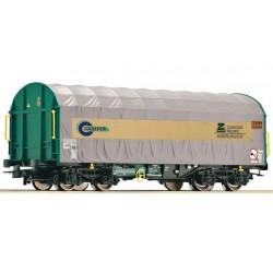 ROCO Wagon à bâche coulissante Cadefer