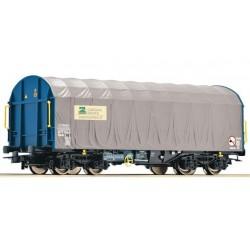 ROCO Wagon à bâche coulissante Cargas - Renfe
