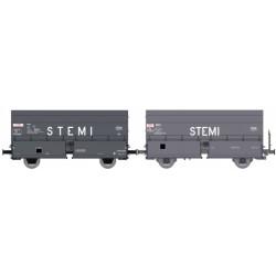 """REE-Modeles Set de 2 trémies """"STEMI"""""""