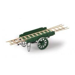 ARTITEC  Charette verte avec échelles