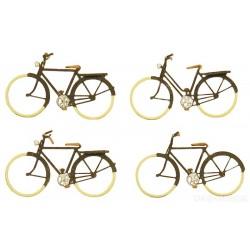 ARTITEC  Set de vélos allemands anciens