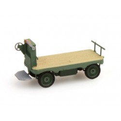 ARTITEC  Chariot de quai électrique vert
