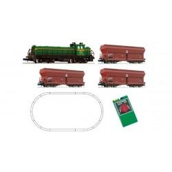 FLEISCHMANN Boite de départ analogique Diesel série 304 et trémies RENFE