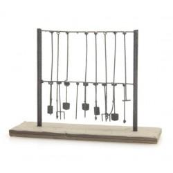 ARTITEC  Rack d'outils suspendus