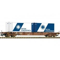 FLEISCHMANN Porte container type Sgns, DSB