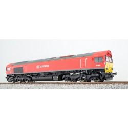 ESU DB Schenker 66001, rot, DC/AC