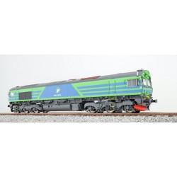 ESU H0, TGOJ 714, blau-grün, DC/AC