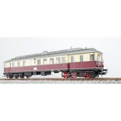 ESU Dieseltriebwagen VT 858, rot-beige, DC