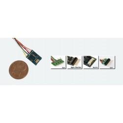 ESU LokPilot micro V4.0, DCC, 6-pin NEM651avec cable
