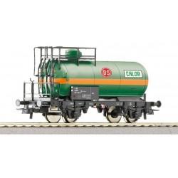"""ROCO Wagon citerne pour le transport de gaz """"Dansk S."""" de la DSB"""
