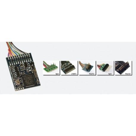 ESU LokPilot V4.0 M4, Multiprotocol MM/DCC/SX/M4, PluX22 NEM558