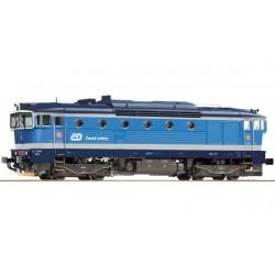 ROCO Locomotive diesel série 754 des CD