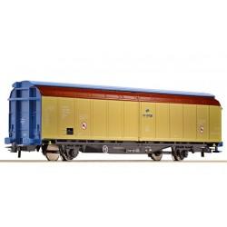 ROCO Wagon à parois coulissantes de la PKP-Cargo