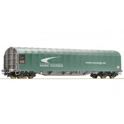 ROCO Wagon à bâches coulissantes de la ZSSK Cargo