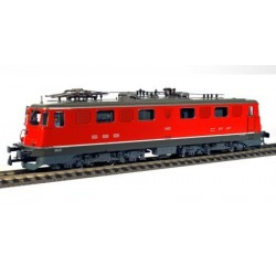 HAG Locomotive electrique Ae 6/6 Stadtelok rot Ville de Genève DC