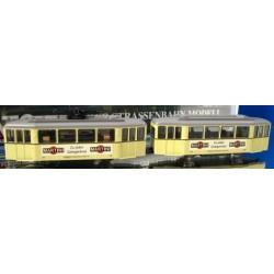 KATO Tram urbain DüWag avec remorque